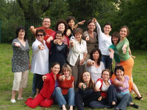 Uczestnicy Kursu Dramy VIII.2008