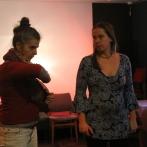Laura i Olga - prowadzące warsztat