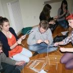 DAW 2012. Warsztaty wolontariuszy - budowanie wieży