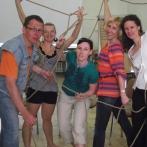 DAW 2012. Warsztaty wolontariuszy. Rzeżba metafora komunikacji